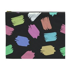 Many Colors Pattern Seamless Cosmetic Bag (xl) by Nexatart