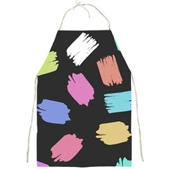 Many Colors Pattern Seamless Full Print Aprons