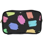 Many Colors Pattern Seamless Toiletries Bags 2-Side Back
