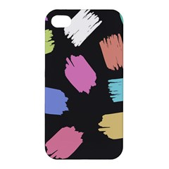 Many Colors Pattern Seamless Apple Iphone 4/4s Premium Hardshell Case