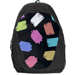 Many Colors Pattern Seamless Backpack Bag by Nexatart