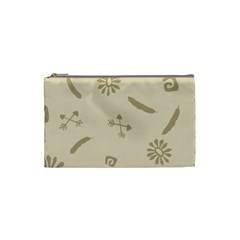Pattern Culture Seamless American Cosmetic Bag (small)  by Nexatart
