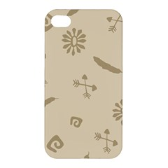 Pattern Culture Seamless American Apple Iphone 4/4s Premium Hardshell Case by Nexatart