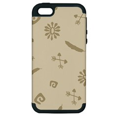 Pattern Culture Seamless American Apple Iphone 5 Hardshell Case (pc+silicone) by Nexatart
