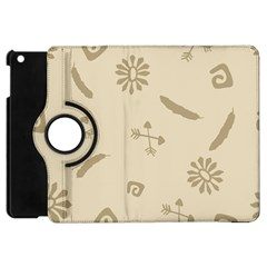 Pattern Culture Seamless American Apple Ipad Mini Flip 360 Case by Nexatart