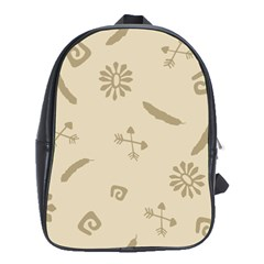 Pattern Culture Seamless American School Bags (xl)  by Nexatart