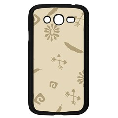 Pattern Culture Seamless American Samsung Galaxy Grand Duos I9082 Case (black)