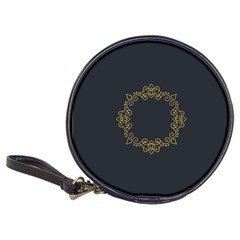 Monogram Vector Logo Round Classic 20 Cd Wallets