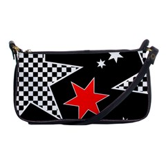 Stars Seamless Pattern Background Shoulder Clutch Bags by Nexatart