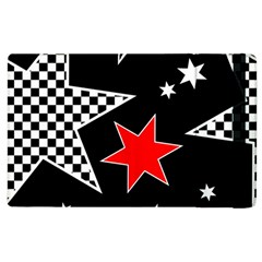 Stars Seamless Pattern Background Apple Ipad 3/4 Flip Case by Nexatart