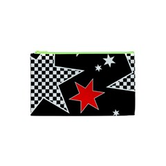 Stars Seamless Pattern Background Cosmetic Bag (xs)