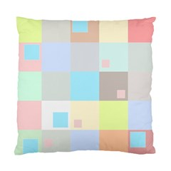 Pastel Diamonds Background Standard Cushion Case (two Sides) by Nexatart