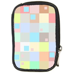 Pastel Diamonds Background Compact Camera Cases by Nexatart