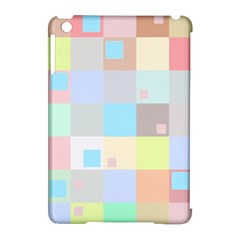Pastel Diamonds Background Apple Ipad Mini Hardshell Case (compatible With Smart Cover) by Nexatart
