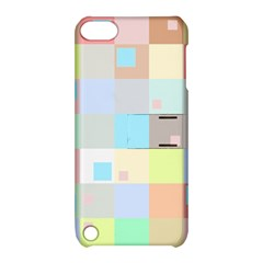Pastel Diamonds Background Apple Ipod Touch 5 Hardshell Case With Stand by Nexatart