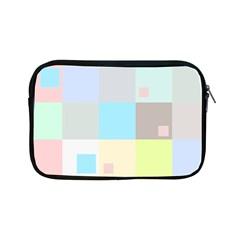 Pastel Diamonds Background Apple Ipad Mini Zipper Cases by Nexatart