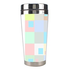 Pastel Diamonds Background Stainless Steel Travel Tumblers by Nexatart