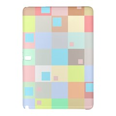 Pastel Diamonds Background Samsung Galaxy Tab Pro 10 1 Hardshell Case by Nexatart