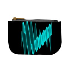 Wave Pattern Vector Design Mini Coin Purses