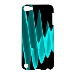 Wave Pattern Vector Design Apple Ipod Touch 5 Hardshell Case