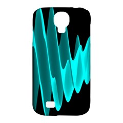 Wave Pattern Vector Design Samsung Galaxy S4 Classic Hardshell Case (pc+silicone) by Nexatart