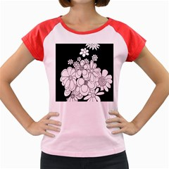 Mandala Calming Coloring Page Women s Cap Sleeve T Shirt