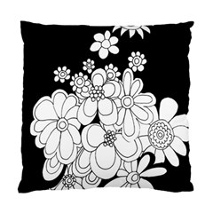 Mandala Calming Coloring Page Standard Cushion Case (two Sides) by Nexatart