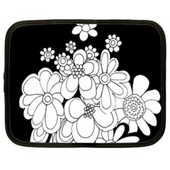 Mandala Calming Coloring Page Netbook Case (xxl)