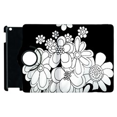 Mandala Calming Coloring Page Apple Ipad 2 Flip 360 Case by Nexatart