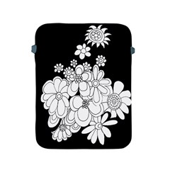 Mandala Calming Coloring Page Apple Ipad 2/3/4 Protective Soft Cases by Nexatart