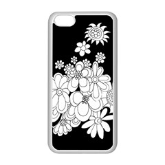 Mandala Calming Coloring Page Apple Iphone 5c Seamless Case (white)
