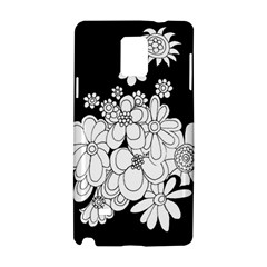 Mandala Calming Coloring Page Samsung Galaxy Note 4 Hardshell Case by Nexatart