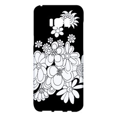 Mandala Calming Coloring Page Samsung Galaxy S8 Plus Hardshell Case  by Nexatart