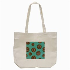 Circle Vector Background Abstract Tote Bag (cream)