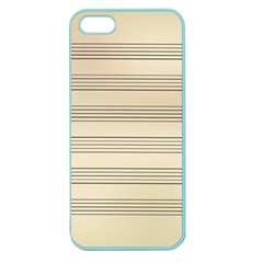Notenblatt Paper Music Old Yellow Apple Seamless Iphone 5 Case (color) by Nexatart
