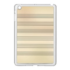 Notenblatt Paper Music Old Yellow Apple Ipad Mini Case (white) by Nexatart