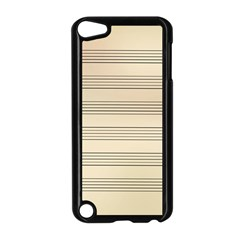 Notenblatt Paper Music Old Yellow Apple Ipod Touch 5 Case (black)