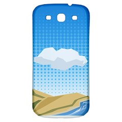 Grid Sky Course Texture Sun Samsung Galaxy S3 S Iii Classic Hardshell Back Case by Nexatart