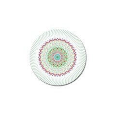 Flower Abstract Floral Golf Ball Marker (10 Pack) by Nexatart