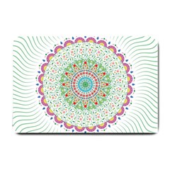 Flower Abstract Floral Small Doormat