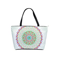 Flower Abstract Floral Shoulder Handbags by Nexatart