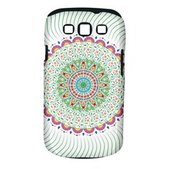 Flower Abstract Floral Samsung Galaxy S Iii Classic Hardshell Case (pc+silicone) by Nexatart