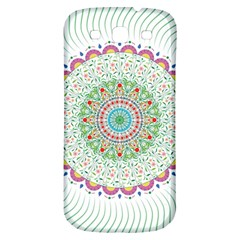 Flower Abstract Floral Samsung Galaxy S3 S Iii Classic Hardshell Back Case
