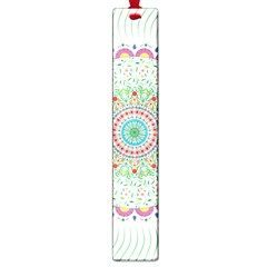 Flower Abstract Floral Large Book Marks by Nexatart