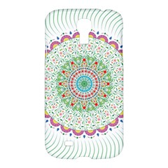 Flower Abstract Floral Samsung Galaxy S4 I9500/i9505 Hardshell Case by Nexatart