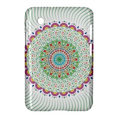 Flower Abstract Floral Samsung Galaxy Tab 2 (7 ) P3100 Hardshell Case  by Nexatart