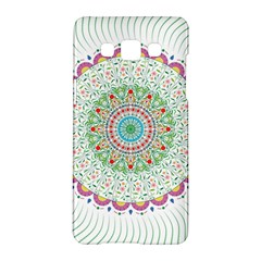 Flower Abstract Floral Samsung Galaxy A5 Hardshell Case  by Nexatart