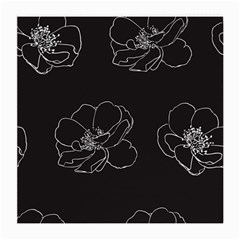 Rose Wild Seamless Pattern Flower Medium Glasses Cloth