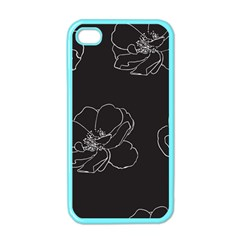 Rose Wild Seamless Pattern Flower Apple Iphone 4 Case (color) by Nexatart