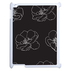 Rose Wild Seamless Pattern Flower Apple Ipad 2 Case (white) by Nexatart